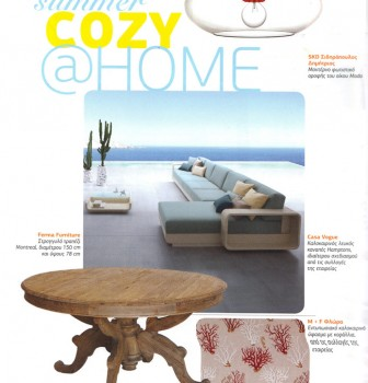 Cozy home magazine